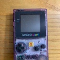 Videojuegos y Consolas: GAMEBOY COLOR - TRANSPARENTE. Lote 262904190
