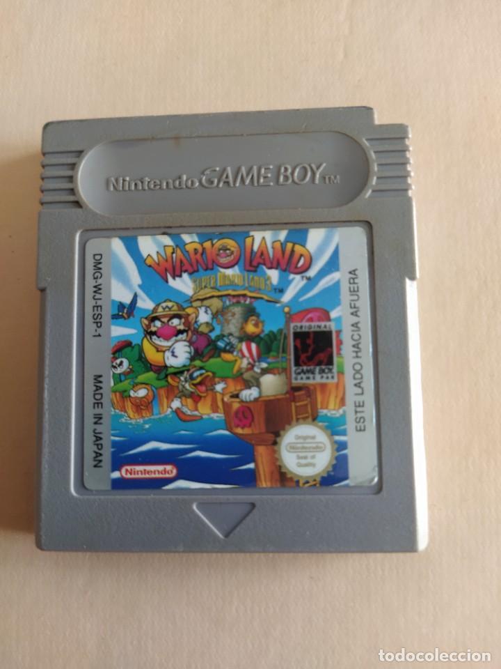 WARIO LAND NINTENDO GAMEBOY COLOR GBC GAMEBOY (Juguetes - Videojuegos y Consolas - Nintendo - GameBoy Color)