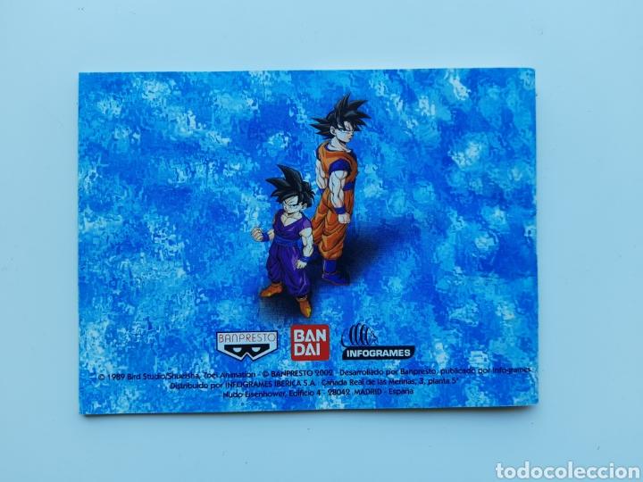 Videojuegos y Consolas: Manual Dragon ball z guerreros de leyenda nintendo gameboy color - Foto 2 - 268944529