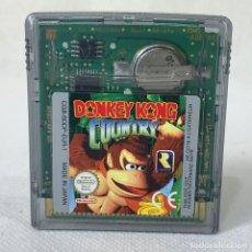 Videojuegos y Consolas: VIDEOJUEGO NINTENDO GAME BOY COLOR - DONKEY KONG COUNTRY - EUR. Lote 269121118