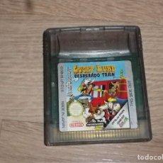 Videojuegos y Consolas: NINTENDO GAMEBOY COLOR JUEGO LUCKY LUKE DESPERADO TRAIN. Lote 269349528
