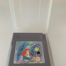 Videojuegos y Consolas: LA SIRENITA - THE LITTLE MERMAID - JUEGO GAME BOY CON FUNDA ORIGINAL. Lote 269692713