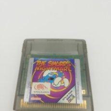 Videojuegos y Consolas: THE SMURFS NIGHTMARE GAME BOY COLOR NINTENDO. Lote 269723048