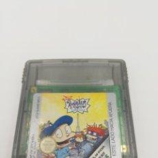 Videojuegos y Consolas: RUGRATS EN PARIS LA PELICULA GAME BOY NINTENDO. Lote 269724853