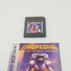 Videojuegos y Consolas: DROPZONE GAME BOY COLOR NINTENDO. Lote 269725703