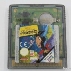Videojuegos y Consolas: NINTENDO GAME BOY COLOR THE EMPEROR'S NEW GROOVE SOLO CARTUCHO PAL EUR. Lote 273454778