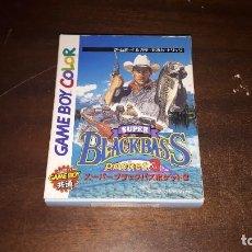 Videojuegos y Consolas: JUEGO PARA NINDENDO GAME BOY COLOR ORIGINAL DE JAPON - SUPER BLACK BASS BOLSILLO 3. Lote 273761718