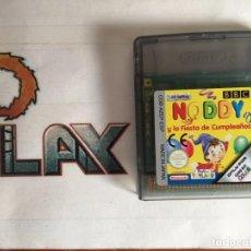 Videojuegos y Consolas: NINTENDO GAME BOY COLOR NOODY Y LA FIESTA DE CUMPLEAÑOS SOLO CARTUCHO PAL ESP. Lote 274210478