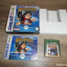 Videojuegos y Consolas: NINTENDO GAMEBOY COLOR HARRY POTTER Y LA PIEDRA FILOSOFAL PAL ESP COMPLETO. Lote 275516858