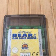 Videojuegos y Consolas: BEAR BIG BLUE HOUSE GAME BOY COLOR ( SOLO CARTUCHO ). Lote 275539758