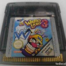 Videojuegos y Consolas: WARIO LAND 3 GAME BOY COLOR NINTENDO. Lote 275616163