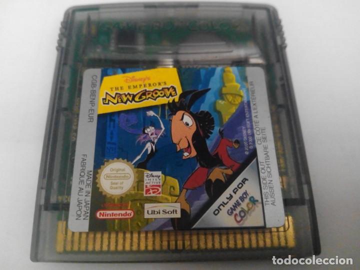 THE EMPEROR'S NEW GROOVE GAME BOY COLOR NINTENDO (Juguetes - Videojuegos y Consolas - Nintendo - GameBoy Color)
