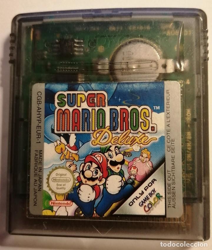 SUPER MARIO BROS DELUXEJUEGO NINTENDO GAME BOY (Juguetes - Videojuegos y Consolas - Nintendo - GameBoy Color)