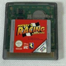 Videojuegos y Consolas: VIDEOJUEGO NINTENDO GAME BOY COLOR - MICKEY'S RACING ADVENTURE - EUR. Lote 276279433