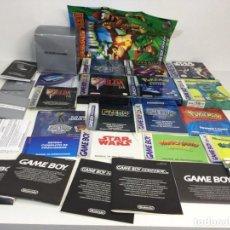 Videojuegos y Consolas: NINTENDO GAME BOY LOTE CAJAS ORIGINALES CON INSTRUCCIONES. Lote 276817013