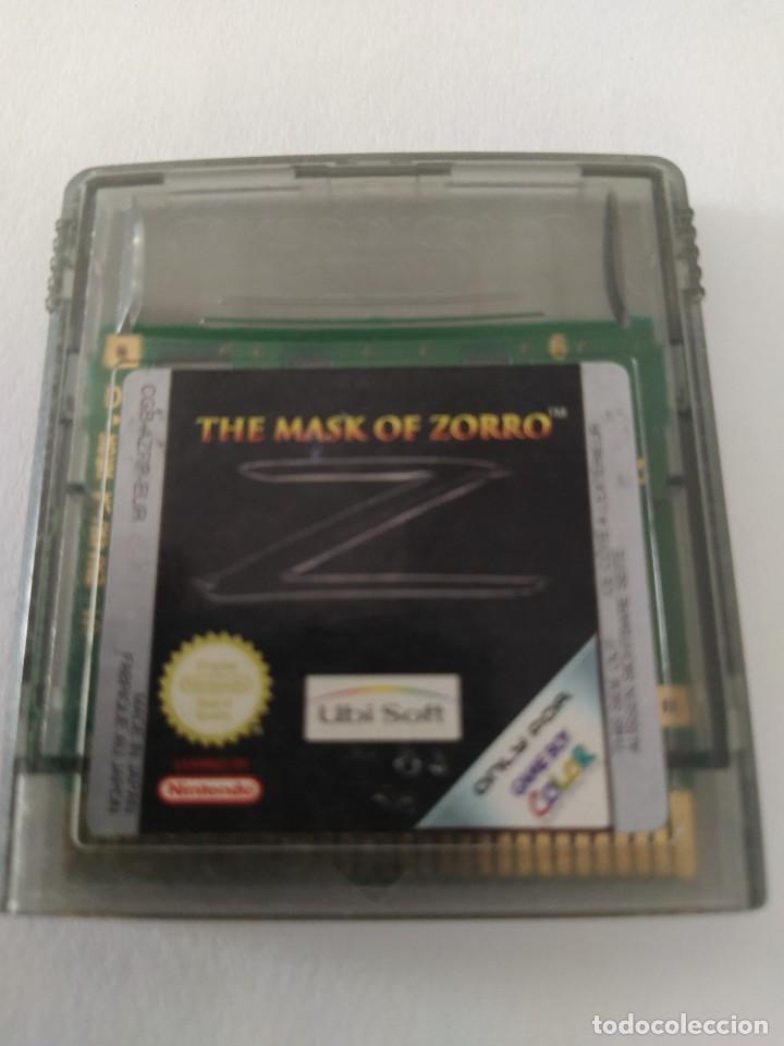 THE MASK OF ZORRO GAMEBOY COLOR NINTENDO GBC ORIGINAL 100% (Juguetes - Videojuegos y Consolas - Nintendo - GameBoy Color)