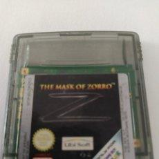 Videojuegos y Consolas: THE MASK OF ZORRO GAMEBOY COLOR NINTENDO GBC ORIGINAL 100%. Lote 277125063