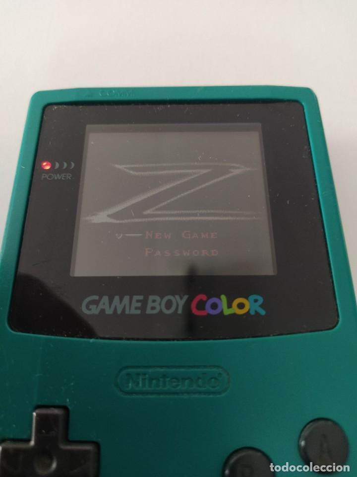 Videojuegos y Consolas: THE MASK OF ZORRO GAMEBOY COLOR NINTENDO GBC ORIGINAL 100% - Foto 3 - 277125063