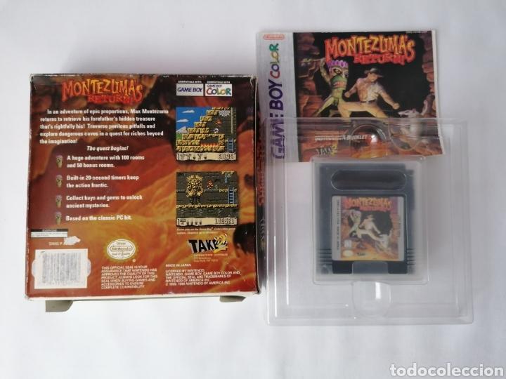 Videojuegos y Consolas: Gameboy color Montezumas returns - Foto 2 - 277224608