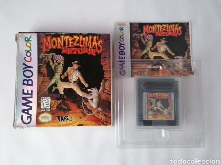 GAMEBOY COLOR MONTEZUMAS RETURNS (Juguetes - Videojuegos y Consolas - Nintendo - GameBoy Color)