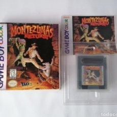 Videojuegos y Consolas: GAMEBOY COLOR MONTEZUMAS RETURNS. Lote 277224608