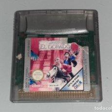 Videojuegos y Consolas: NINTENDO GAME BOY COLOR : ANTIGUO JUEGO THE ROAD TO EL DORADO AÑO 2001 FUNCIONANDO. Lote 278968418
