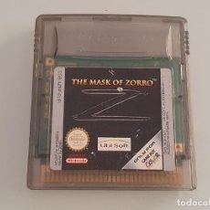 Videojuegos y Consolas: NINTENDO GAME BOY COLOR : ANTIGUO JUEGO THE MASK OF ZORRO AÑO 2001 FUNCIONANDO. Lote 278969308
