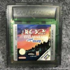 Videojuegos y Consolas: DISNEY 102 DALMATAS CACHORROS AL RESCATE CARTUCHO NINTENDO GAME BOY COLOR GBC. Lote 279337403