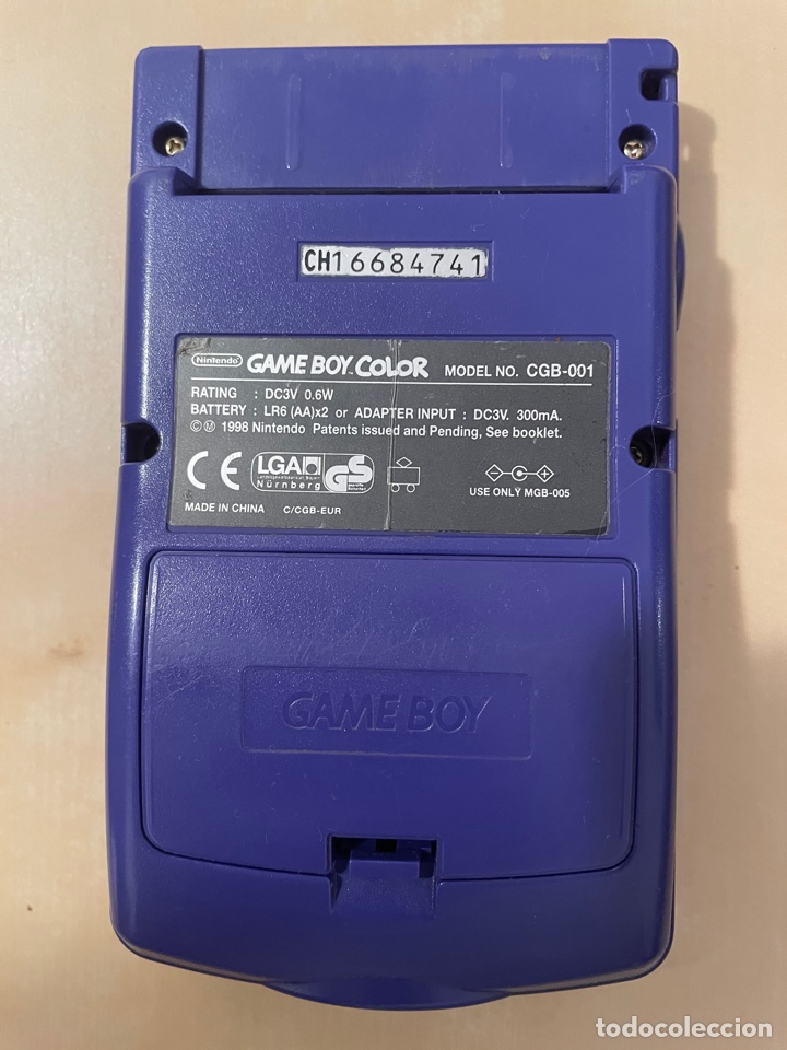 Videojuegos y Consolas: Consola Game Boy Color - Púrpura Lila Morado - Original - Nintendo Gameboy - Foto 2 - 286290793