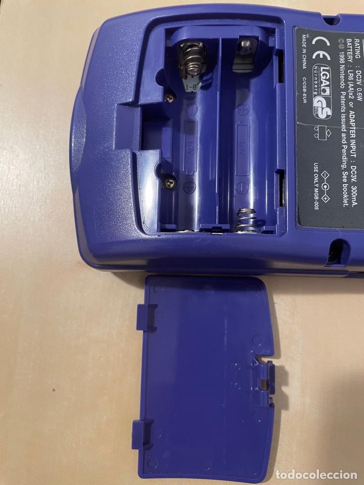 Videojuegos y Consolas: Consola Game Boy Color - Púrpura Lila Morado - Original - Nintendo Gameboy - Foto 3 - 286290793