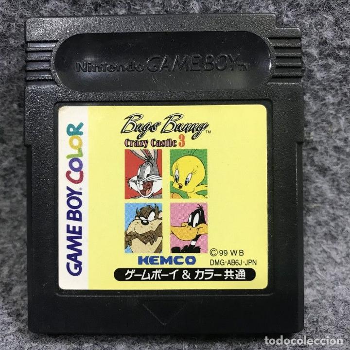 BUGS BUNNY CRAZY CASTLE 3 JAP NINTENDO GAME BOY COLOR GBC (Juguetes - Videojuegos y Consolas - Nintendo - GameBoy Color)