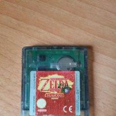 Videojuegos y Consolas: LEGEND OF ZELDA ORACLE OF SEASONS NINTENDO GAMEBOY COLOR ESP. Lote 287676268