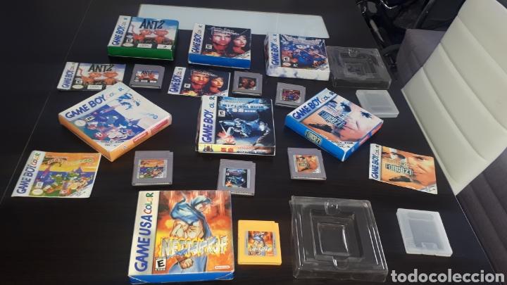 LOTE 7 JUEGOS CLÓNICOS GAMEBOY GAME BOY COLOR DRAGON WARRIOR MONSTERS HIPPO INSE MYSTICAL NINJA ETC (Juguetes - Videojuegos y Consolas - Nintendo - GameBoy Color)