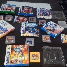 Videojuegos y Consolas: LOTE 7 JUEGOS CLÓNICOS GAMEBOY GAME BOY COLOR DRAGON WARRIOR MONSTERS HIPPO INSE MYSTICAL NINJA ETC. Lote 288432023