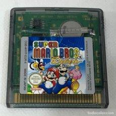 Videojuegos y Consolas: VIDEOJUEGO GAMEBOY COLOR - SUPER MARIO BROS DELUXE - EUR. Lote 288644228
