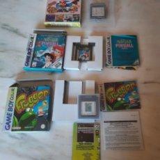 Videojuegos y Consolas: 3 JUEGOS GAMEBOY CON CAJA. Lote 288945173