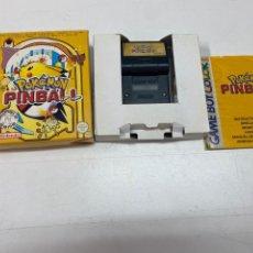 """Videojuegos y Consolas: JUEGO """"POKEMON PINBALL"""" PARA GAME BOY COLOR CON CAJA ORIGINAL Y INSTRUCCIONES. Lote 289299648"""