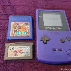 Videojuegos y Consolas: ANTIGUA CONSOLA GAME BOY COLOR. Lote 289483173