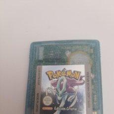 Jeux Vidéo et Consoles: GAME BOY COLOR .POKEMON CRISTAL. Lote 290633558