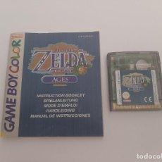 Jeux Vidéo et Consoles: GAME BOY COLOR . ZELDA AGES. Lote 290635053