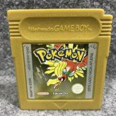Videojuegos y Consolas: POKEMON ORO NINTENDO GAME BOY COLOR GBC. Lote 293247803