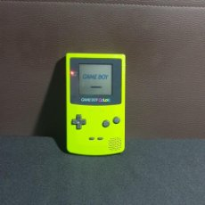 Videojuegos y Consolas: GAMEBOY COLOR FUNCIONA SIN LUZ TAL CUAL COMO SE VE EN FOTOS. Lote 293830728