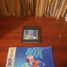Videojuegos y Consolas: ROX / GAMEBOY COLOR. Lote 294115458