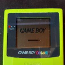 Videogiochi e Consoli: CONSOLA GAME BOY COLOR VERDE ( FUNCIONANDO ). Lote 295818943