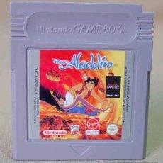 Videojuegos y Consolas: JUEGO CONSOLA ORIGINAL NINTENDO GAME BOY ALADIN DISNEY. Lote 12364586