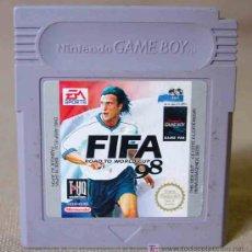 Videojuegos y Consolas: JUEGO CONSOLA ORIGINAL NINTENDO GAME BOY FIFA 98 ROAD TO WORLD CUP. Lote 12371416