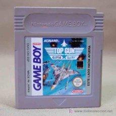 Videojuegos y Consolas: JUEGO CONSOLA ORIGINAL NINTENDO GAME BOY TOP GUN GUTS & GLORY KONAMI. Lote 12655404