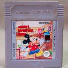 Videojuegos y Consolas: JUEGO CONSOLA ORIGINAL NINTENDO GAME BOY MICKEY'S DANGEROUS CHASE CAPCOM. Lote 12655469