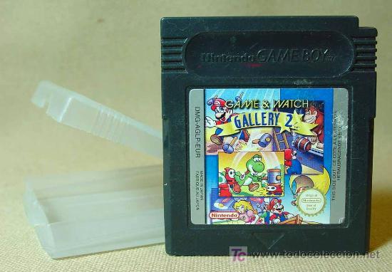 JUEGO CONSOLA, ORIGINAL NINTENDO, GAME BOY, GAME & WATCH, GALLERY 2, JAPON (Juguetes - Videojuegos y Consolas - Nintendo - GameBoy)