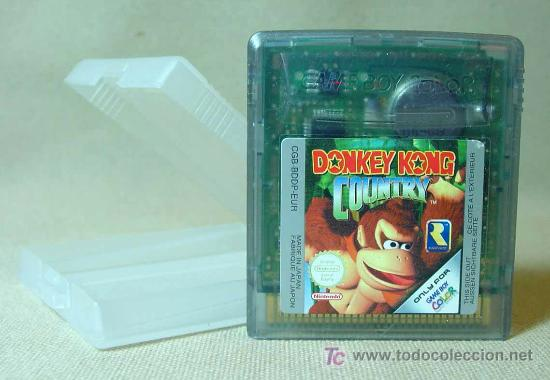 JUEGO CONSOLA, ORIGINAL NINTENDO, GAME BOY, DONKEY KONG, COUNTRY, JAPON (Juguetes - Videojuegos y Consolas - Nintendo - GameBoy)